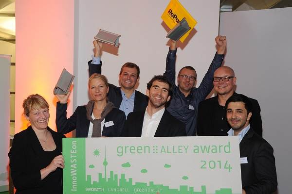 Green Alley Award winners 2014