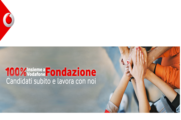 Csr: torna World of Different di Vodafone. 50 posti di lavoro nel sociale