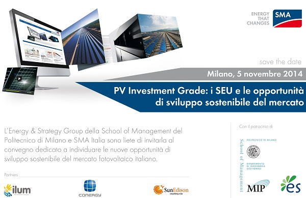 Save the date PV 2014